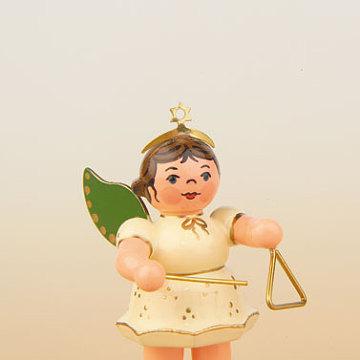 Engel mit Triangel 6,5 cm